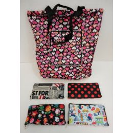 36 Units of EasY-Carry FolD-Up Shopping Bag - Bags Of All Types