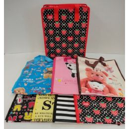 72 Units of Printed Shopping Bag - Bags Of All Types