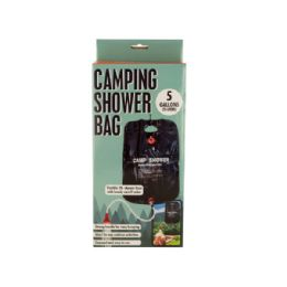 6 Units of Camping Shower Bag With Flexible Hose - Personal Care Items