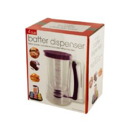 6 Units of Batter Dispenser with Squeeze Handle - Kitchen Utensils