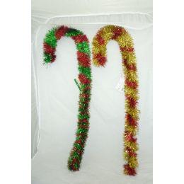 144 Units of Xmas Walking Stick - Christmas Novelties