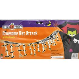 96 Units of 3m Ceiling Deco Gruesome Bat - Halloween & Thanksgiving