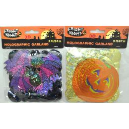 144 Units of 9' H'llween 3D Character Garland - Halloween & Thanksgiving