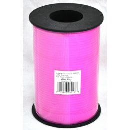 48 Units of 5mm X 500yds Ribbon - Fuschia - Bows & Ribbons
