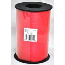 48 Units of 5mm X 500yds Ribbon - Red - Bows & Ribbons