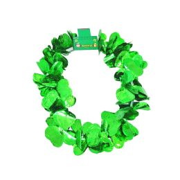72 Units of St. Patricks Shamrock Lei - St. Patricks
