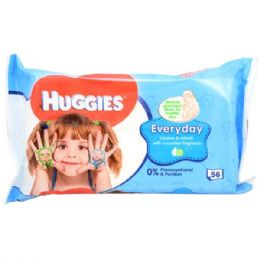 48 Units of Huggies Baby Wipe 56CT - Baby Beauty & Care Items