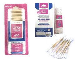 72 Units of 550 Count Cotton Swab - Cotton Balls & Swabs