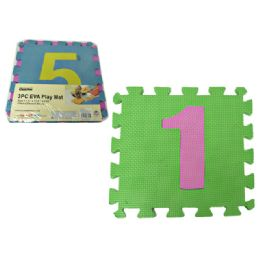 72 Units of Eva 3pcpuzzle Number Mat - Puzzles