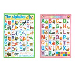 "144 Units of Poster Alphabet 16.15x22.45"" - School Supply Kits"