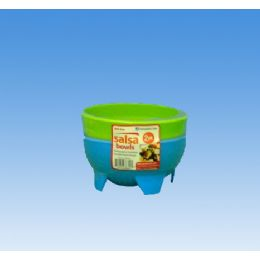 96 Units of 2pk Salsa Bowl - Plastic Bowls and Plates