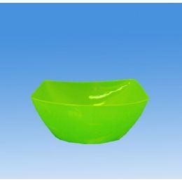 96 Units of Square Plastic Salad Bowl - Plastic Bowls and Plates