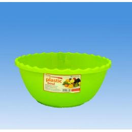 96 Units of Round Plastic Bowl - Plastic Bowls and Plates