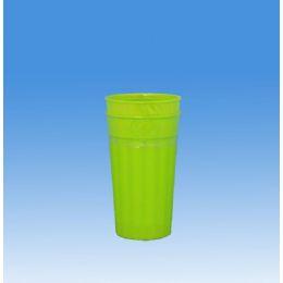 144 Units of 2pc JUMBO PLASTIC TUMBLER (2 COLORS) - Plastic Drinkware