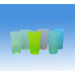 96 Units of 6pc NEON COLOR CUPS (4 COLORS) - Plastic Drinkware