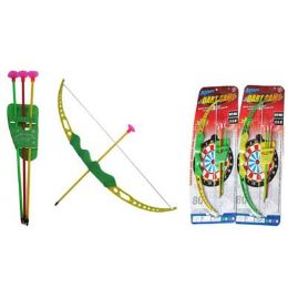60 Units of Large Bow & Arrow Set - Toy Sets