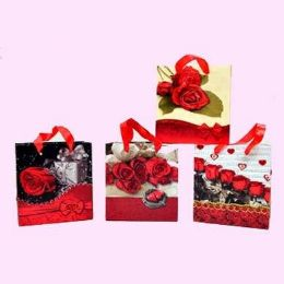 "144 Units of Gift Bag 5.9"" X 5.5"" X 2.7"" - Valentines"