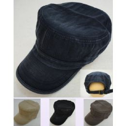 12 Units of Cadet Hat [Denim] - Military Caps