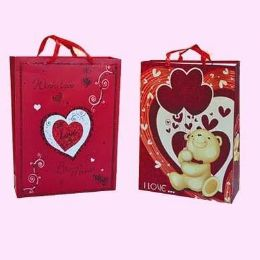 "96 Units of VALENTINES GIFT BAG 17"" X 12.5"" X 4.7 - Valentines"