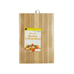 12 Units of Striped Bamboo Cutting Board - Cutting Boards