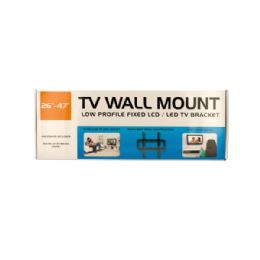 6 Units of Medium Low Profile Tv Wall Mount - Home Accessories