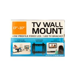 12 Units of Small Low Profile TV Wall Mount - Home Accessories