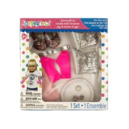 36 Units of Glitter Doll Accessory Gift Set - Dolls