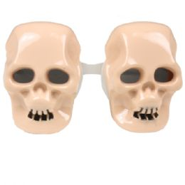 72 Units of Skull Party Glasses - Novelty & Party Sunglasses