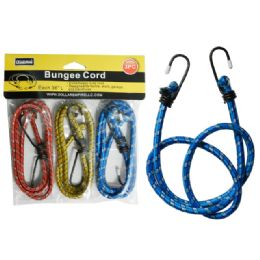 "96 Units of 3pc 3x36"" Bungee Cords - Bungee Cords"