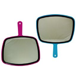 48 Units of Tv Hand Mirror With Handle - Micro Plush Blankets