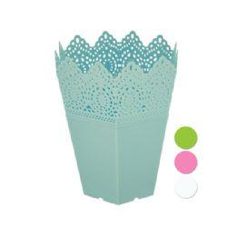72 Units of Decorative Hexagonal MultI-Use Flower Pot - Garden Planters and Pots