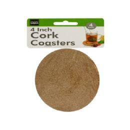 72 Units of Cork Beverage Coasters Set - Coasters & Trivets