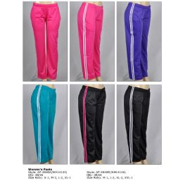 48 Units of Lady's Track Pant - Womens Active Wear