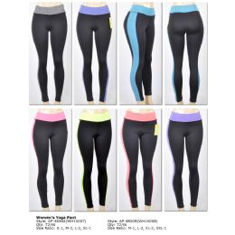 72 Units of Women's Dark Grey Sport Pants - Womens Active Wear