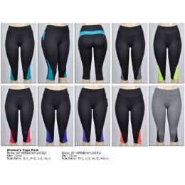 72 Units of Womens Yoga Capri - Womens Active Wear