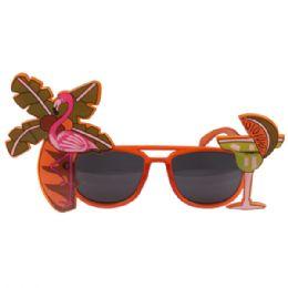24 Units of Margarita Novelty Sunglass - Novelty & Party Sunglasses