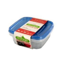 72 Units of Square Food Storage Container Set - Storage Holders and Organizers