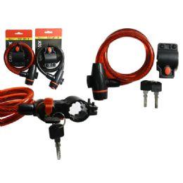 """48 Units of Bike Cable Lock 37.4"""" - Biking"""