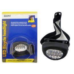 144 Units of Led Bicycle Headlight - Biking