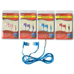 144 Units of Earphones With Microphone - Headphones and Earbuds