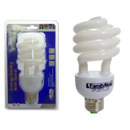 72 Units of 23 Watt Energsy Saving Spiral Lightbulb - Lightbulbs