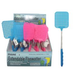 96 Units of Extendable Fly Swatter - Pest Control