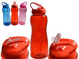 48 Units of 1000ml Sport Water Bottle - Drinking Water Bottle