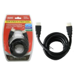 96 Units of 5 Ft Hdmi Cable - Cables and Wires