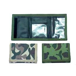 72 Units of Camouflage Wallet - Wallets & Handbags