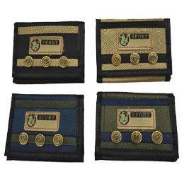 72 Units of Wallet With Buttons - Wallets & Handbags