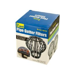 36 Units of Pipe Gutter Filters Set - Garden Cleanup Aids