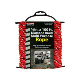 12 Units of Diamond Braid MultI-Purpose Rope On Holder - Rope and Twine