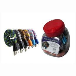 48 Units of Usb Micro Cable Flat Tangle Free - Cables and Wires