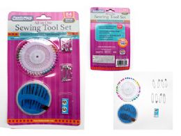 96 Units of 72pc Sewing Tool Set - Sewing Supplies